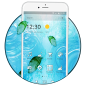Sprinkling Water Drops Theme icon
