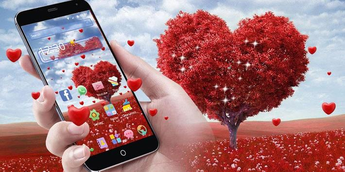 Romantic Valentine's day, a heart shaped love tree screenshot 5