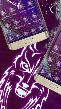 Chip Wolf wang noble mobile theme apk screenshot