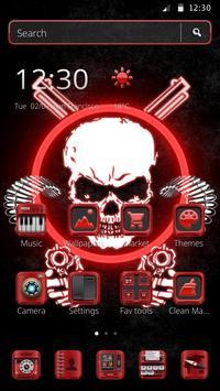 Gangster Skull Theme poster