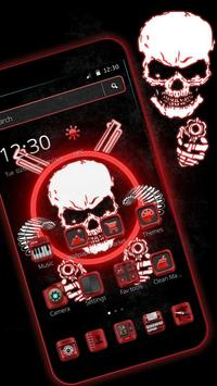 Gangster Skull Theme screenshot 5