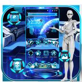 Galaxy Space Theme icon