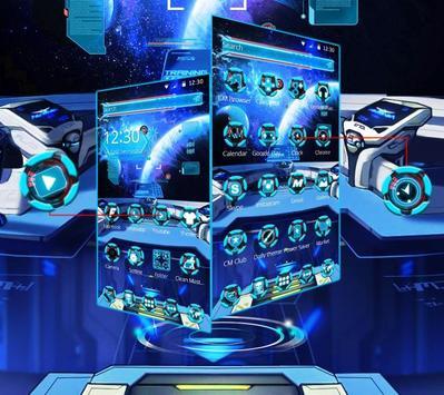 Galaxy Space Theme screenshot 1