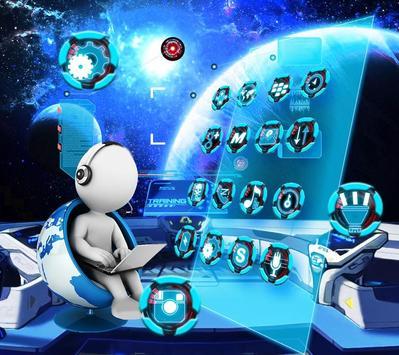 Galaxy Space Theme screenshot 2