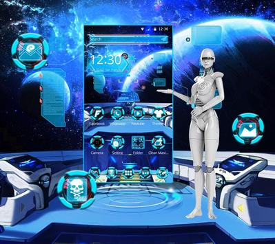 Galaxy Space Theme screenshot 3