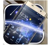 Star fluorescent constellation  phone theme icon