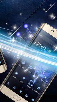 Star fluorescent constellation  phone theme apk screenshot