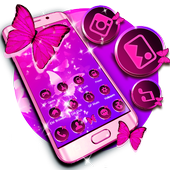 Butterfly Purple Theme icon