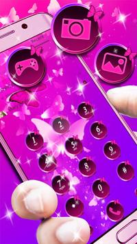 Butterfly Purple Theme screenshot 4