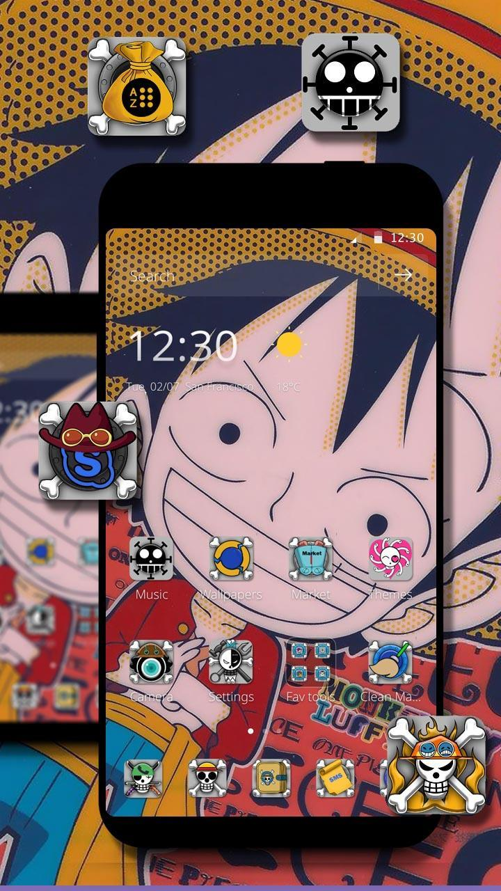 Luffy Wallpaper Theme One Piece Theme For Android Apk Download