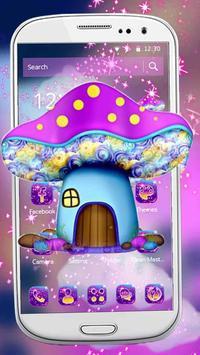 Sparkling Mushroom Castle Theme poster