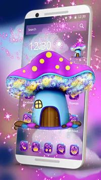Sparkling Mushroom Castle Theme screenshot 1