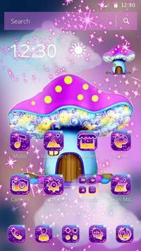 Sparkling Mushroom Castle Theme screenshot 3