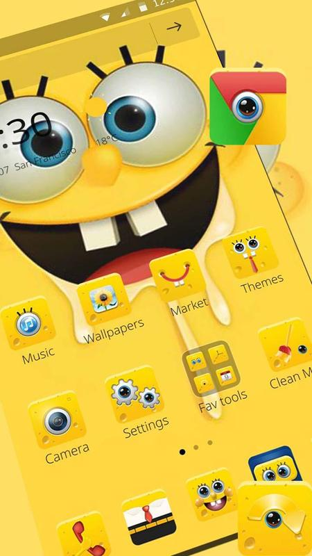 Cartoon Spongebob Wallpaper Theme For Android Apk Download