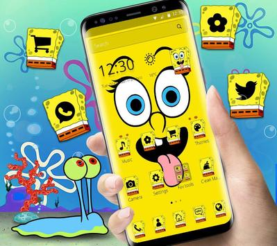 Cute Funny Yellow Cartoon theme poster