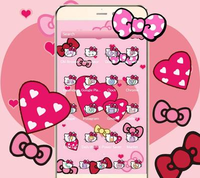 Boetie theme, Pink Princess dream and lovely kitty screenshot 1