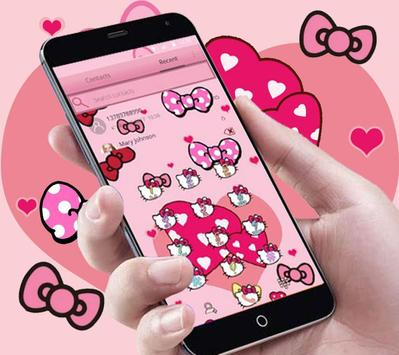 Boetie theme, Pink Princess dream and lovely kitty screenshot 4