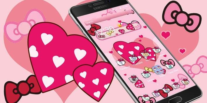 Boetie theme, Pink Princess dream and lovely kitty screenshot 5