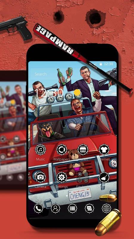 GTA5 Wallpaper Theme Grand Theft Auto V Poster