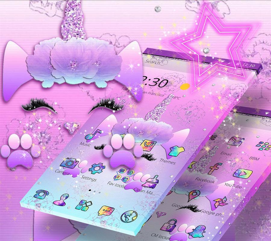 Galaxy Cute Unicorn Für Android Apk Herunterladen