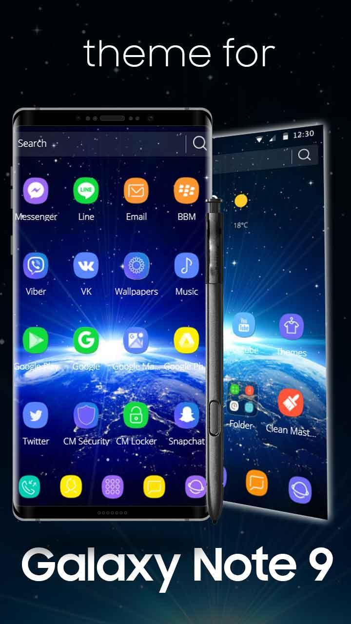 Theme for Galaxy Note 9 for Android - APK Download