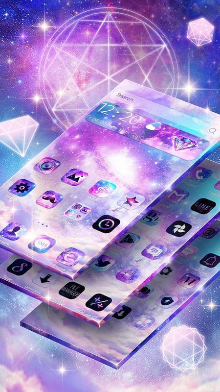 Color Nebula Galaxy Theme安卓下载,安卓版APK   免费下载