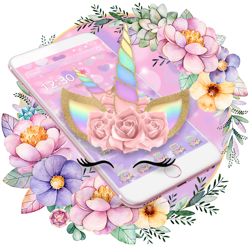Theme Flower Unicorn Dream