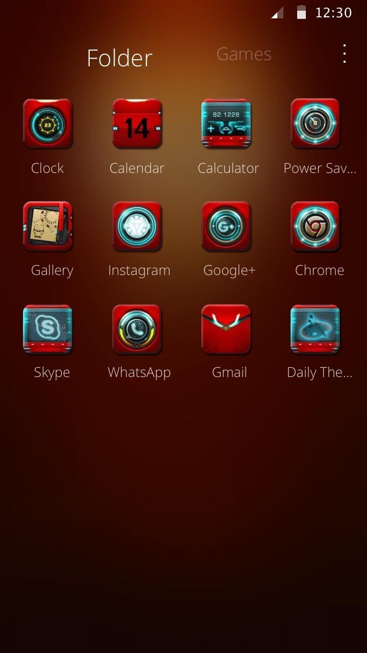 Robot theme iron Man wallpaper theme for Android - APK Download