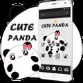 Cute Cartoon Panda Theme