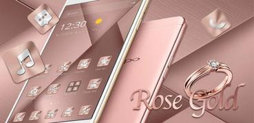 Pink Rose Gold Theme