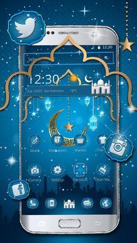 Ramadan kareem Mobile Theme الملصق