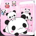 Cute Panda Love Theme Panda Icon Pack