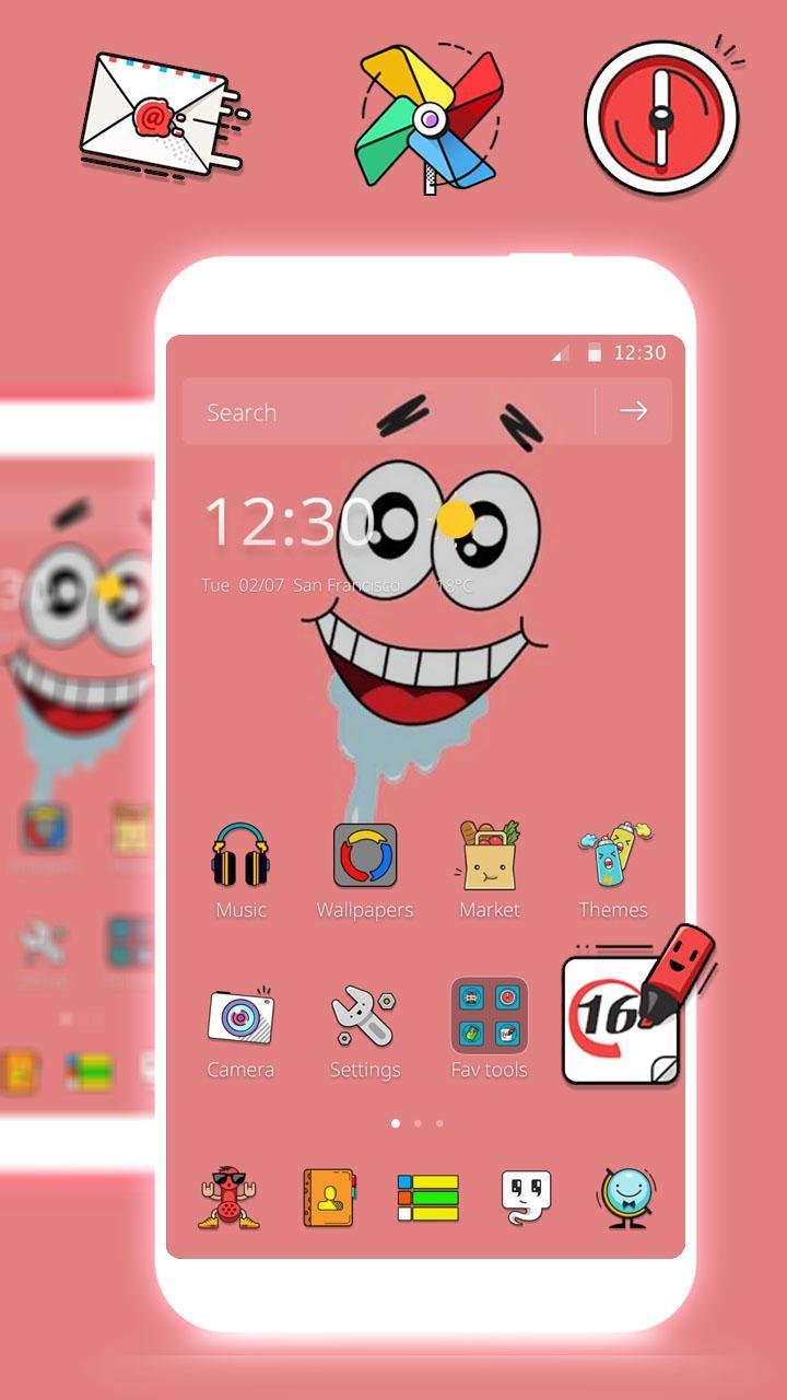 Patrick Star Wallpaper Theme For Android Apk Download