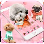 🐶Cute Dog Theme Pet Dog Wallpaper🐶 icon