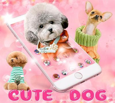 🐶Cute Dog Theme Pet Dog Wallpaper🐶 poster