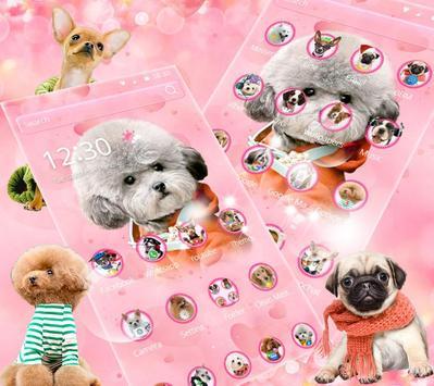 🐶Cute Dog Theme Pet Dog Wallpaper🐶 screenshot 1