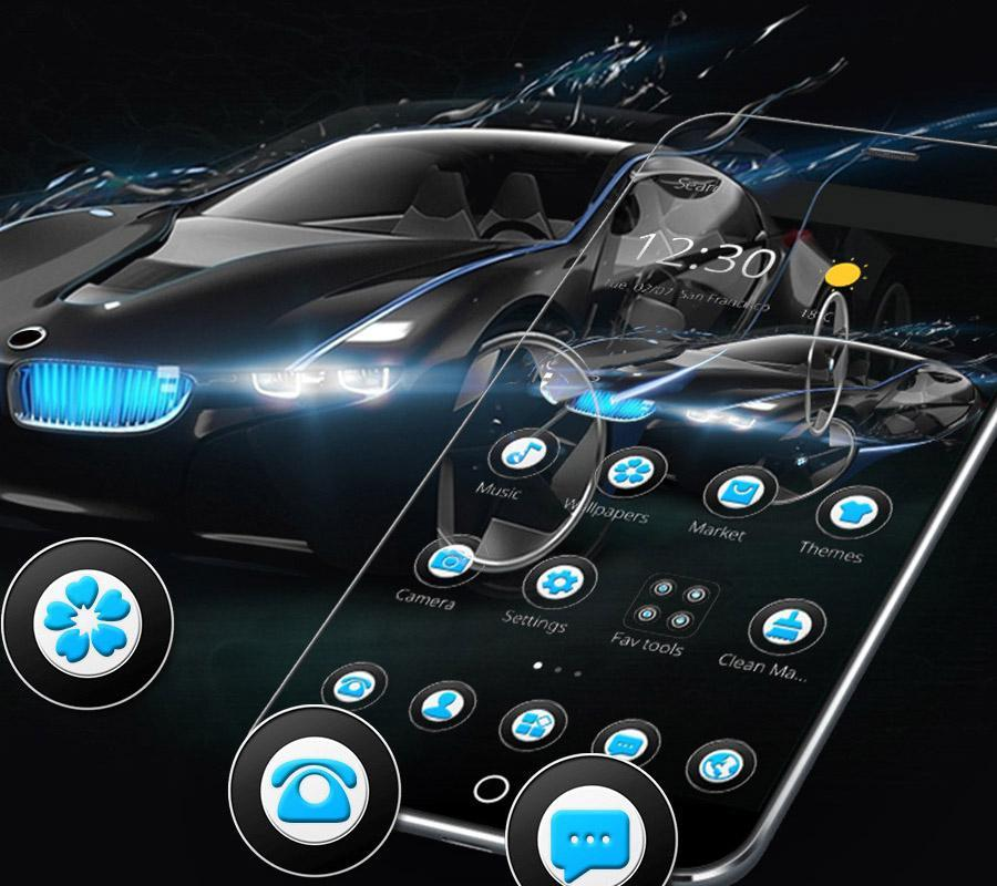 Black Speedy Car Theme for bmw for Android - APK Download