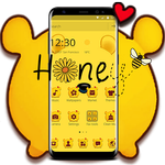 Cuteness Yellow Pooh Bear Theme APK