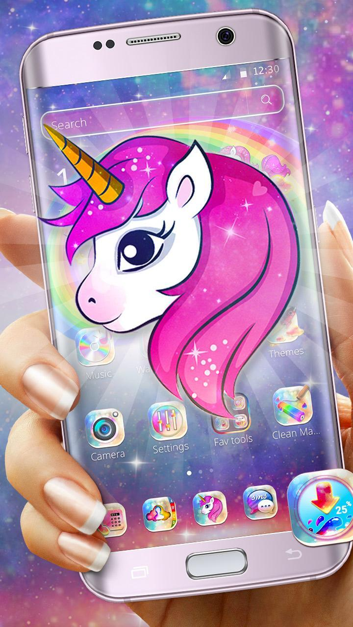 Galaxy Baby Unicorn Mobile Theme for Android - APK Download