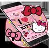 Kitty Princess Pink Butterfly theme アイコン