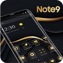 Gold Black Business Theme For Note 9 APK