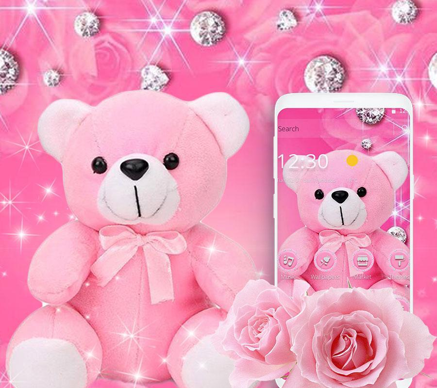 Pink Diamond Teddy Bear Theme For Android Apk Download Teddy bear portraits provides portrait photography services for preschools and daycare centers throughout the united states. pink diamond teddy bear theme for