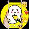 ikon Cartoon Yellow Elfin Emoji Theme
