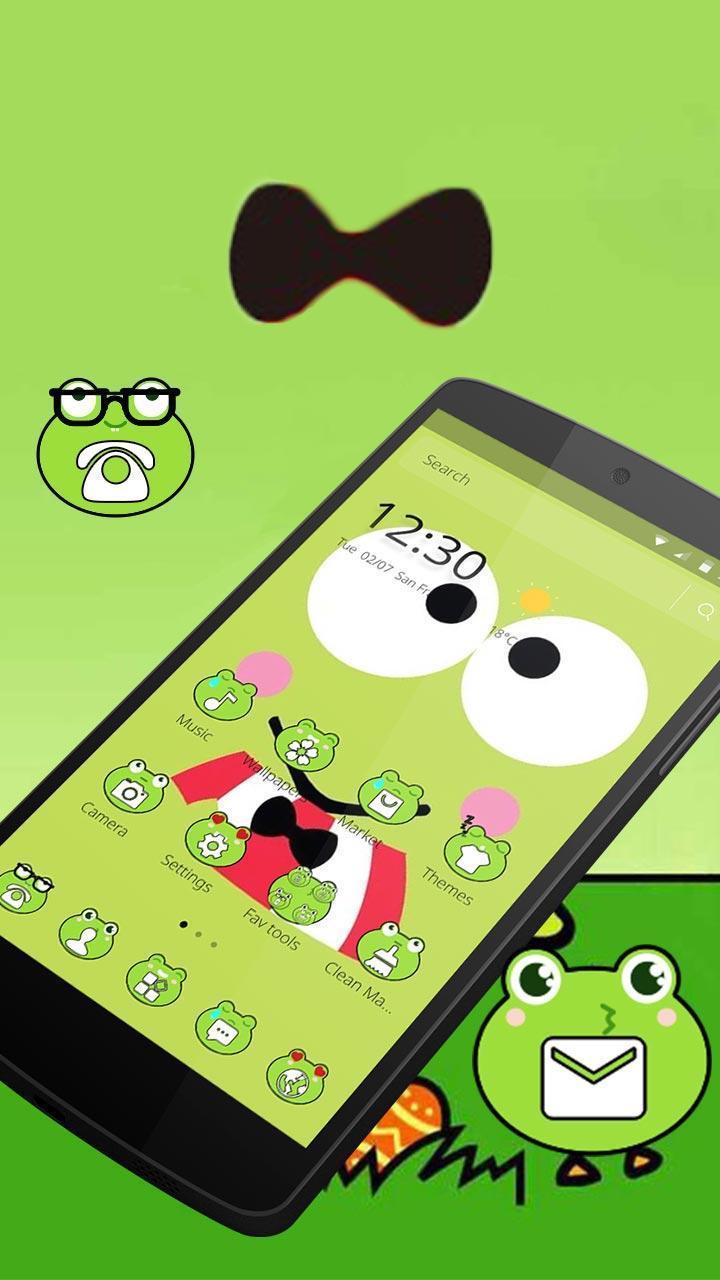 Lucu Katak Mata Besar Tema Anime For Android APK Download