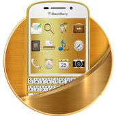 Gold Aureate BlackBerry Theme