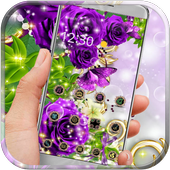 Rose Butterfly Gold icon