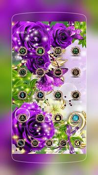 Rose Butterfly Gold screenshot 1