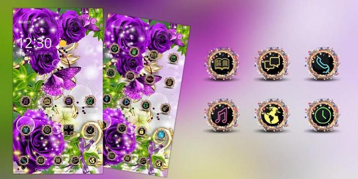 Rose Butterfly Gold screenshot 3