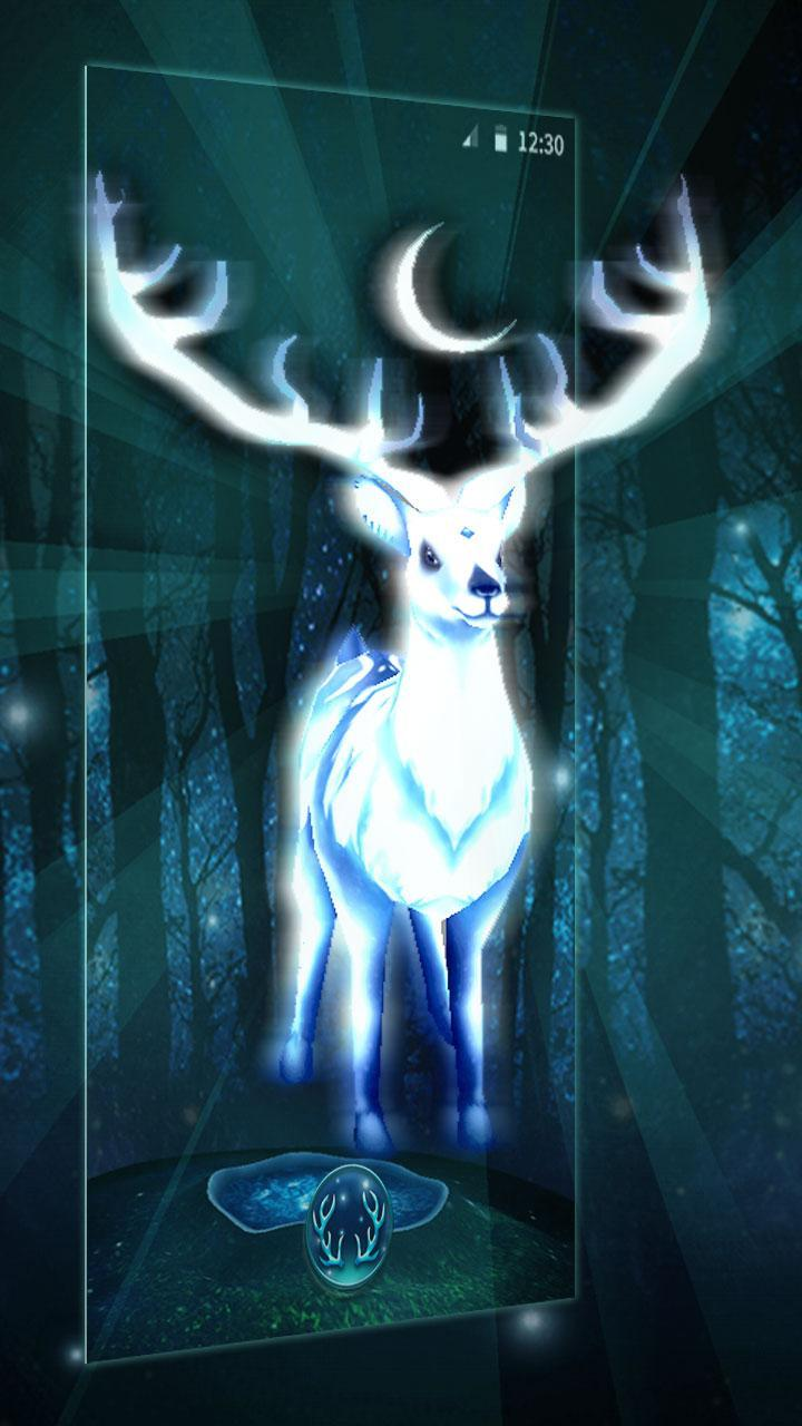White Deer 3D Thema for Android - APK Download