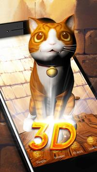 3D Kitty Theme poster